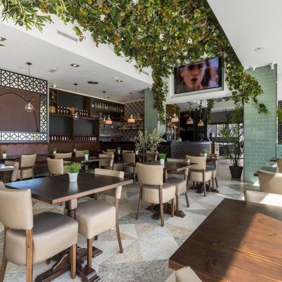 Interior de Internacional Bar Restaurante